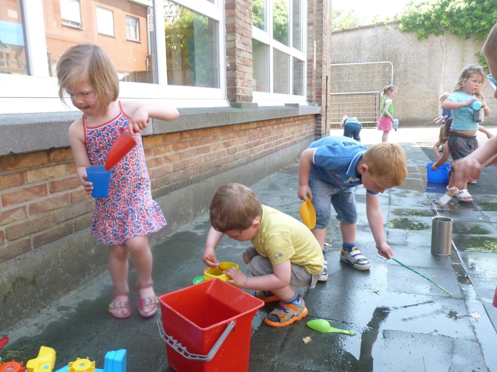 Spelen Met Water En Zand Peuter En 1ste Kleuterklas Koolskamp