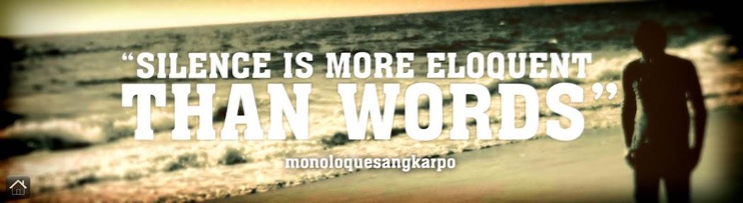 MonoloqueSangKarpo