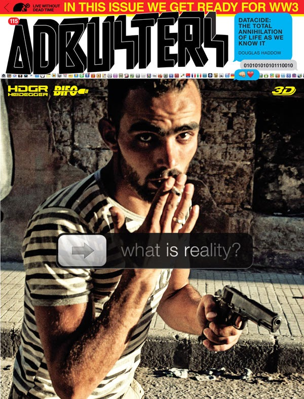 Adbusters #115: Blueprint for a New World Part IV (Techno)