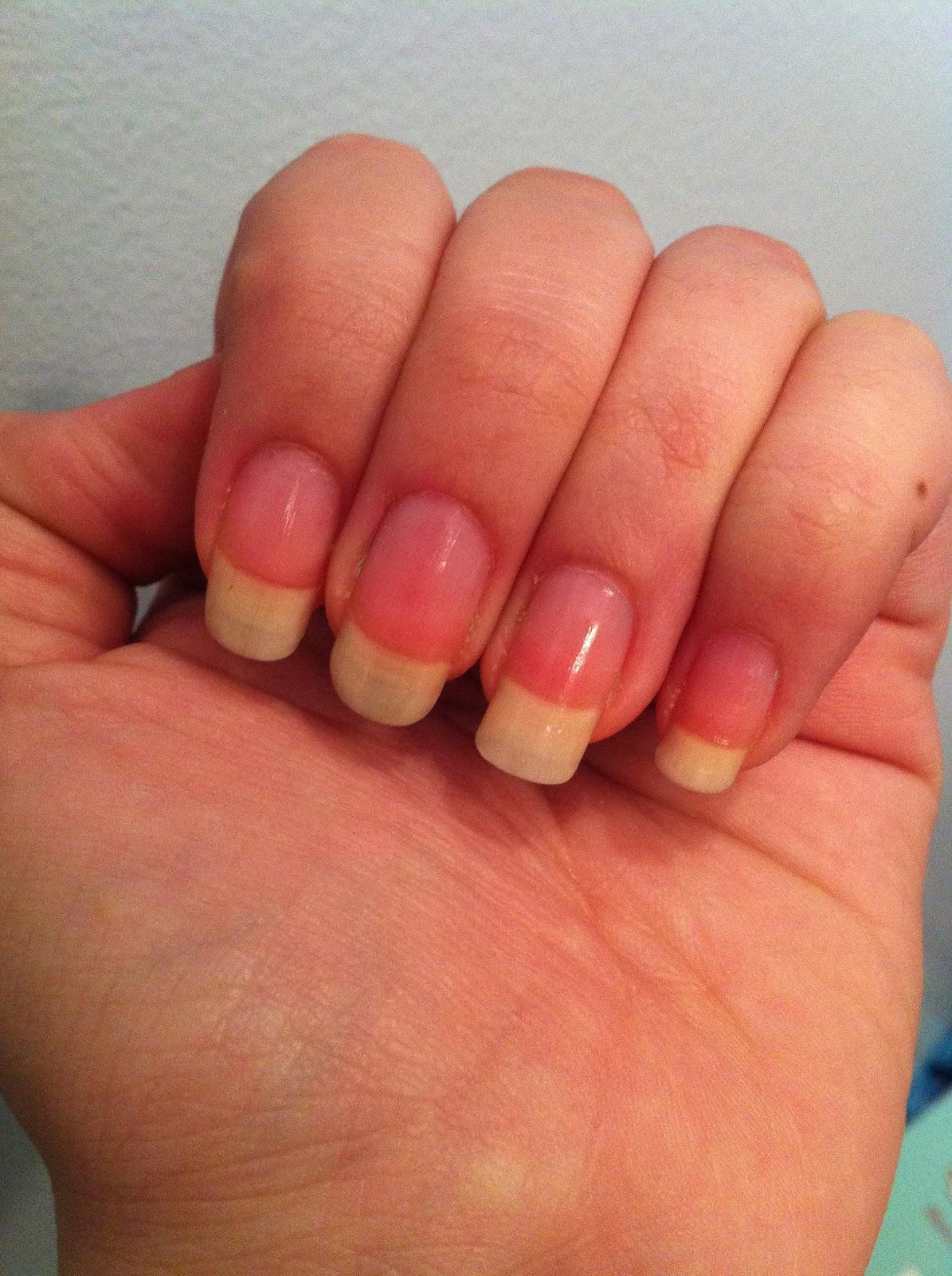 Sweetheart Nail Art: Bye-Bye long nails!