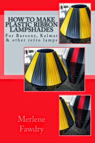 How to make plastic ribbon lampshades