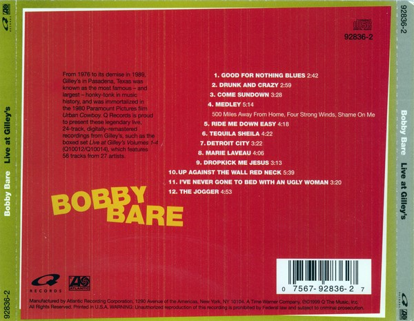 Bobby Bare 500 Miles Away From Home