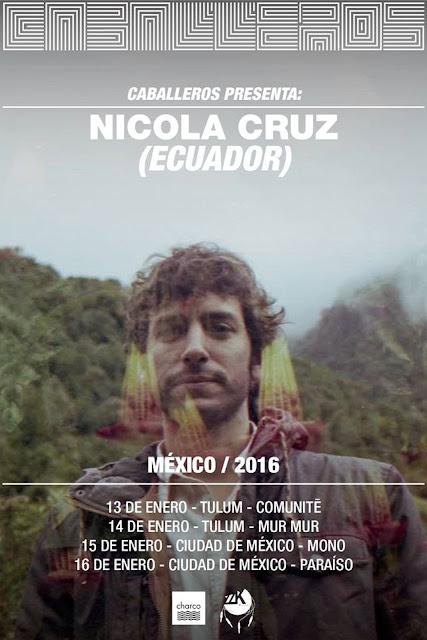 Nicolá Cruz confirma presentaciones en la Ciudad de México
