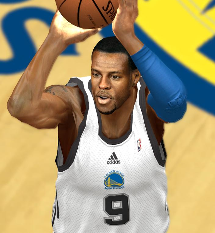 NBA2K Andre Iguodala Cyberface Patch