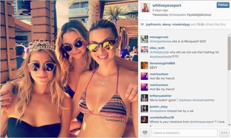 Whitney Port in Bikini Top