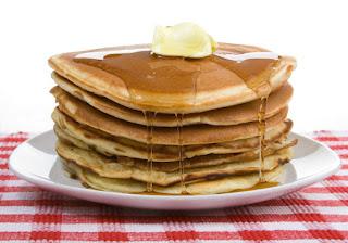 desayunar pankakes