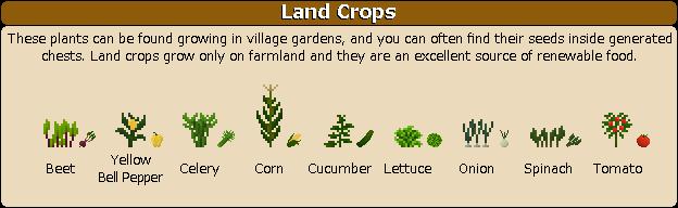 Plant Mega Pack Mod land crops