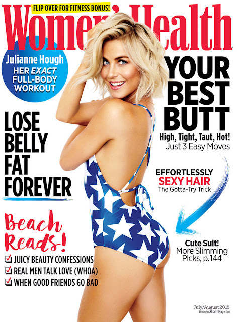 Singer, Actress @ Julianne Hough - Women's Health magazine July/August 2015