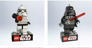 Hallmakr LEGO Star Wars Stormtrooper and Darth Vader ornament
