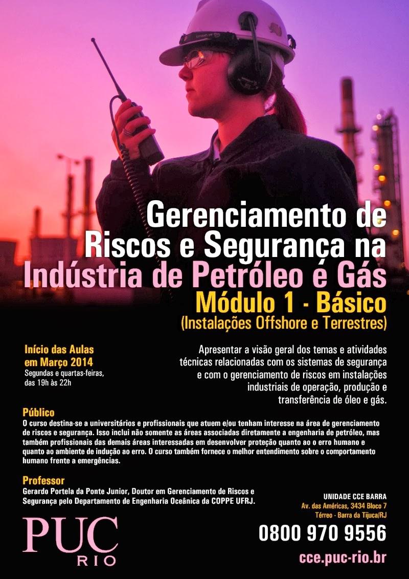 CURSO PUC-RJ GERENCIAMENTO DE RISCOS