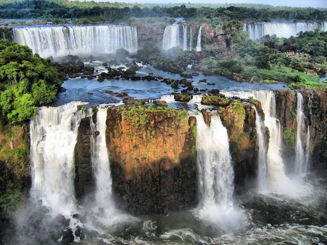Espectacular imágen de las Cataratas de Iguazú
