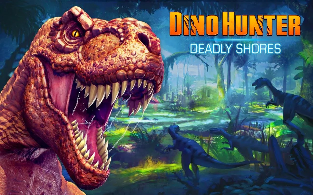 Dino Hunter: Deadly Shores v1.3.0 Mod [Unlimited Money & Glu]
