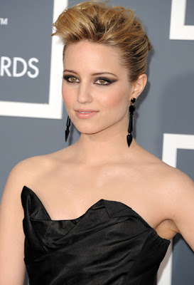 Dianna Agron Dangle Decorative Earrings
