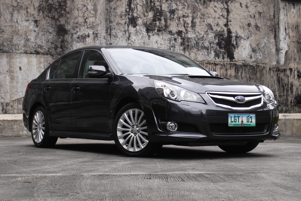 review 2012 subaru legacy gt sedan philippine car news. Black Bedroom Furniture Sets. Home Design Ideas