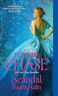 Book cover of Scandal Wears Satin by Loretta Chase