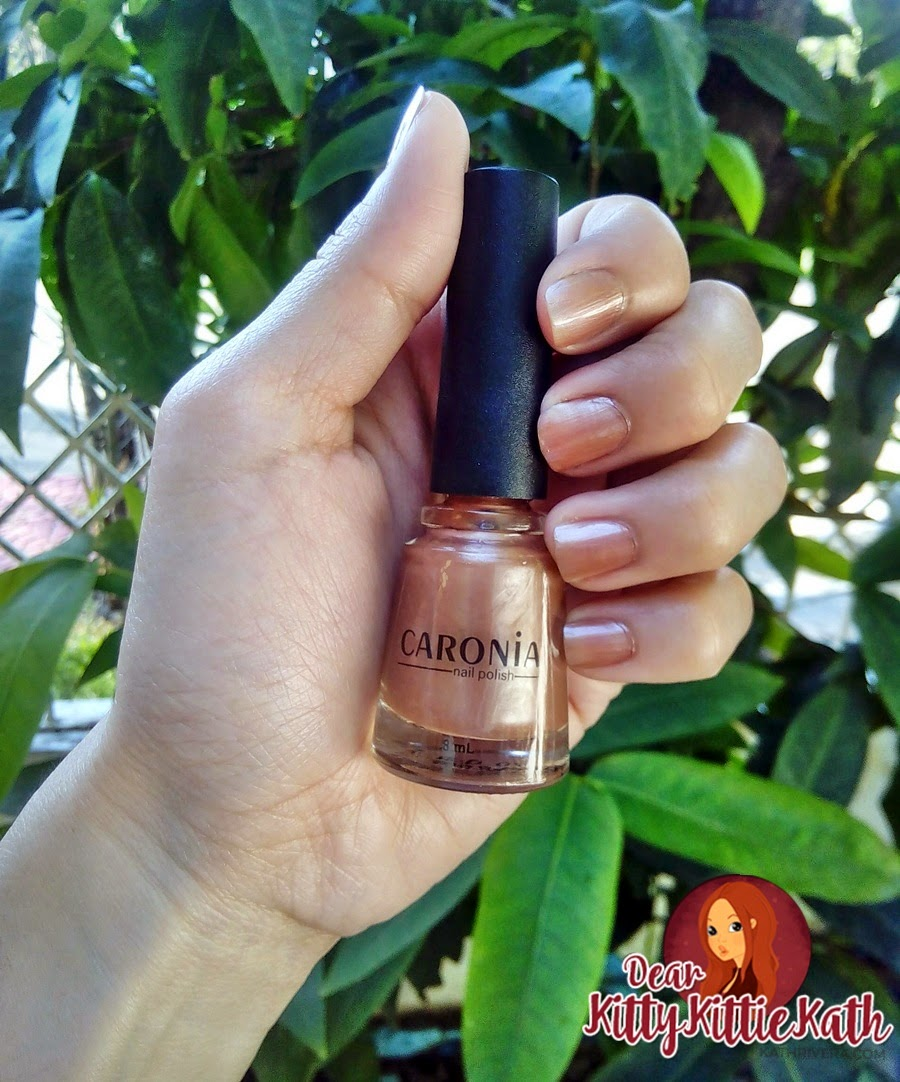 Caronia Nail Polish In Rainbow Tan