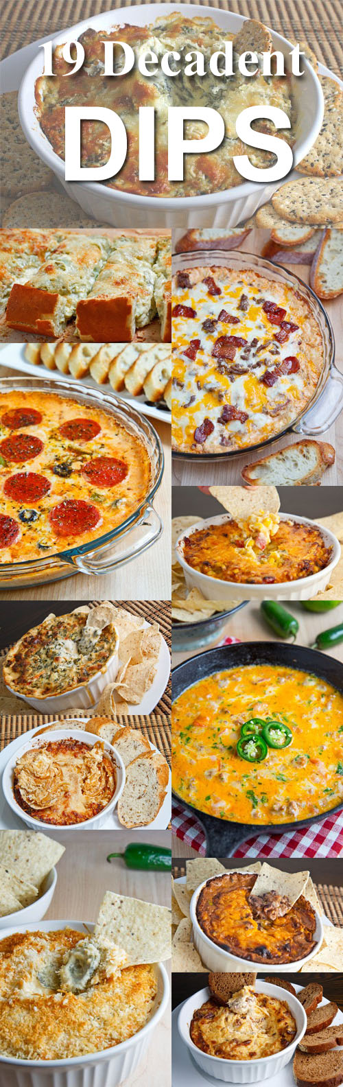 19 Decadent Dips