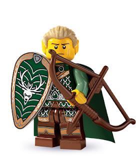 lego minifigür elf