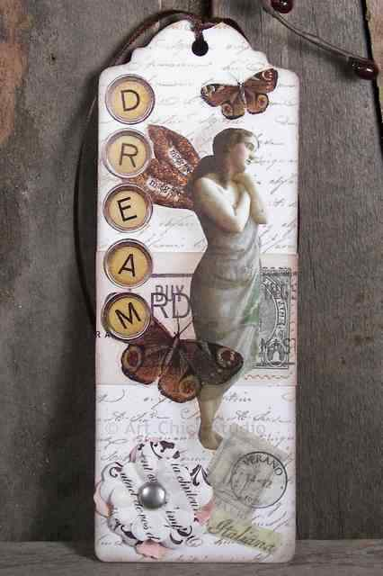 Dream Altered Art Bookmark