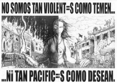 No somos tan violentos como temen...