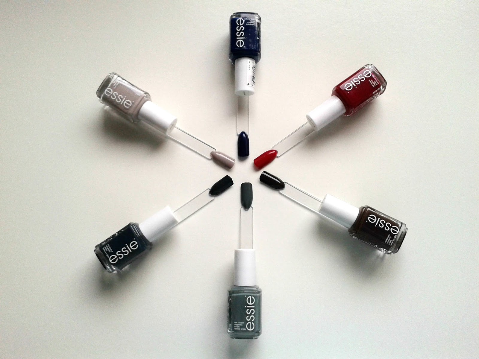 Essie Fall 2014 Collection Dress To Kilt Review Swatches