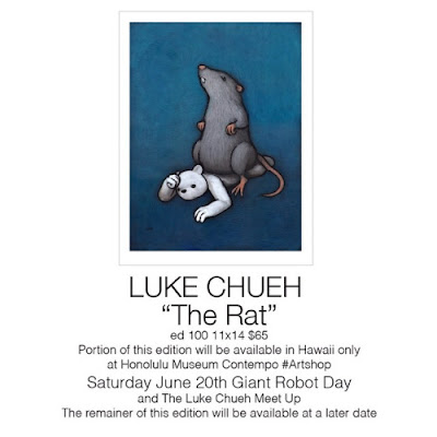 """The Rat"" Print by Luke Chueh"