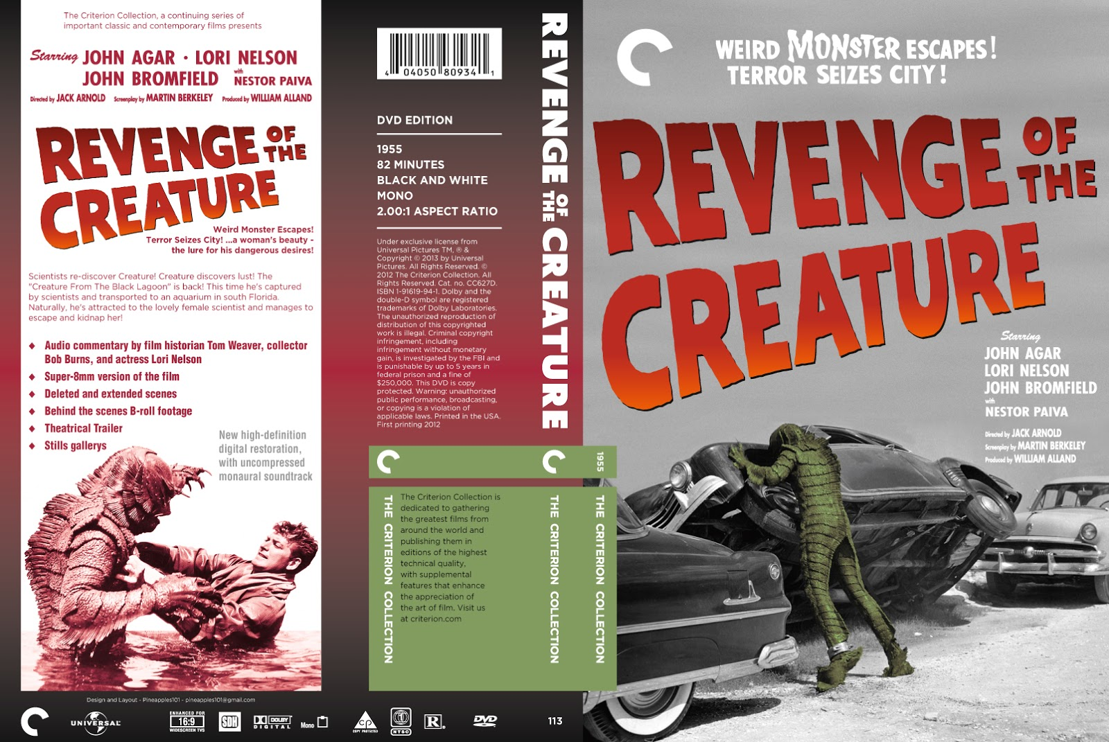 revenge novel and creature To that end, a replacement program is being established to ensure that those who have purchased either collection have the opportunity to receive a corrected blu-ray disc featuring the 3d version of revenge of the creature and 2d version of the creature walks among us, should they encounter the issue.