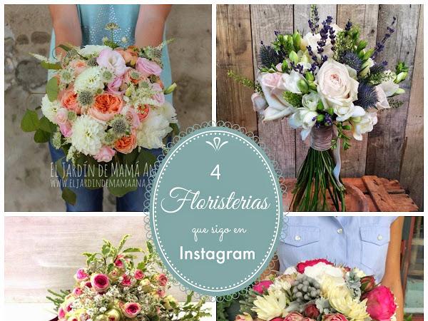Cuatro Floristerías para Bodas que sigo en Instagram