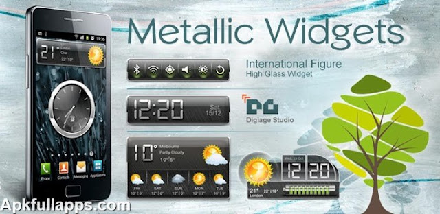 HD Metallic Widgets R2 v5.1