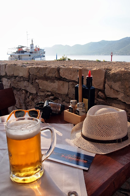 Beer, Korčula, Croatia