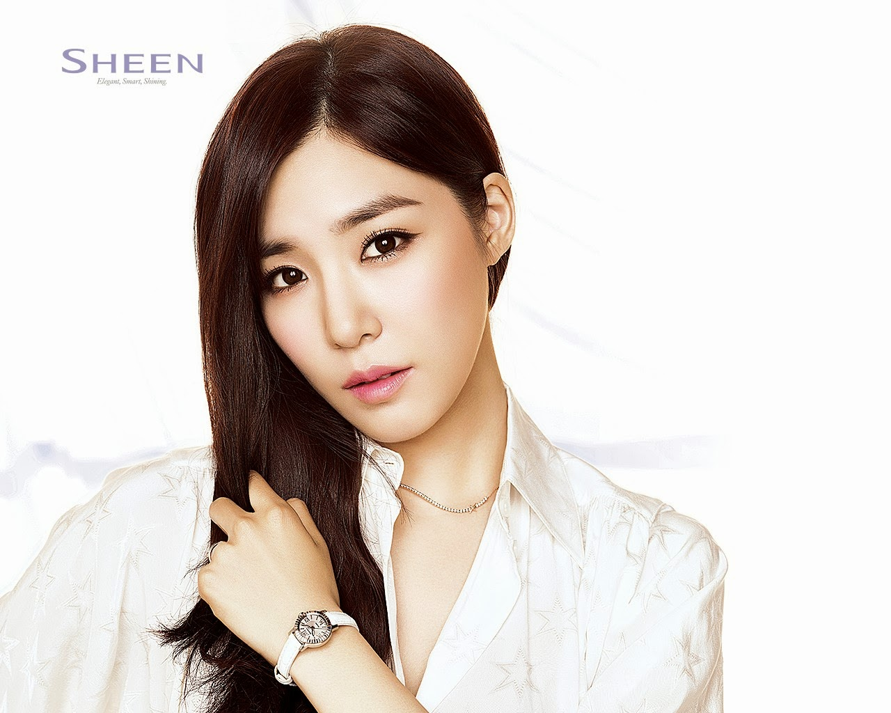 Tiffany Hwang Girls' Generation SNSD Sheen Casio