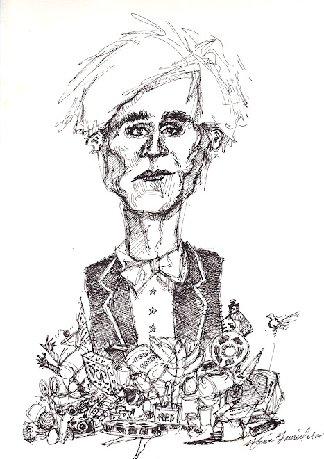 Andy Warhol Caricature