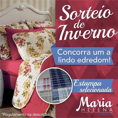 Sorteio de 1 Kit Edredom Casal em Matelassê com 2 Porta Travesseiros