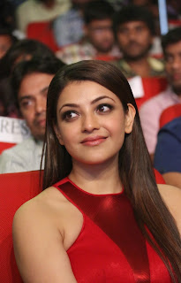Actress Kajal Agarwal Latest Pictures in Long Dress at Temper Movie Audio Launch Function  27.jpg