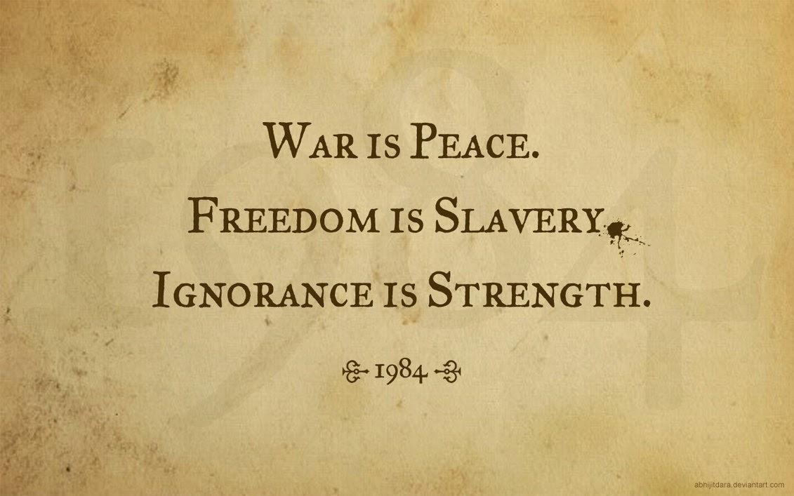 FREEDOM's ORATOR : George Orwell's 1984