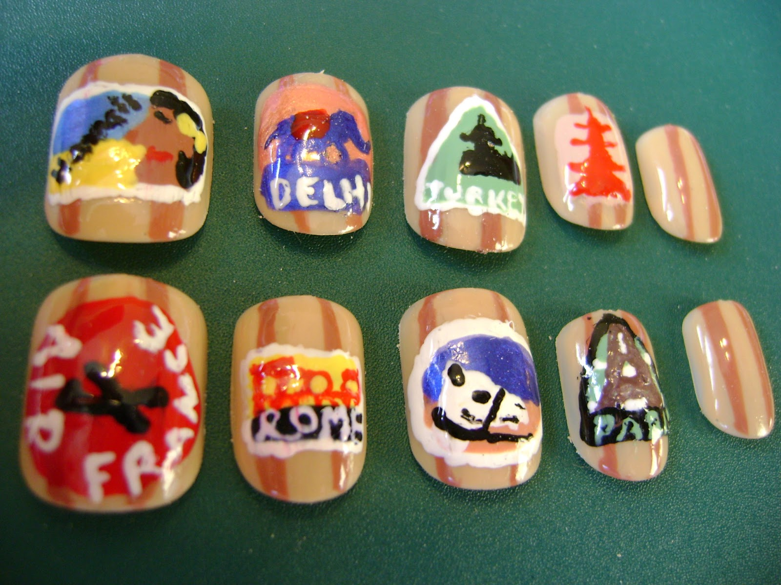 My Nail Art Hobby: January 2013