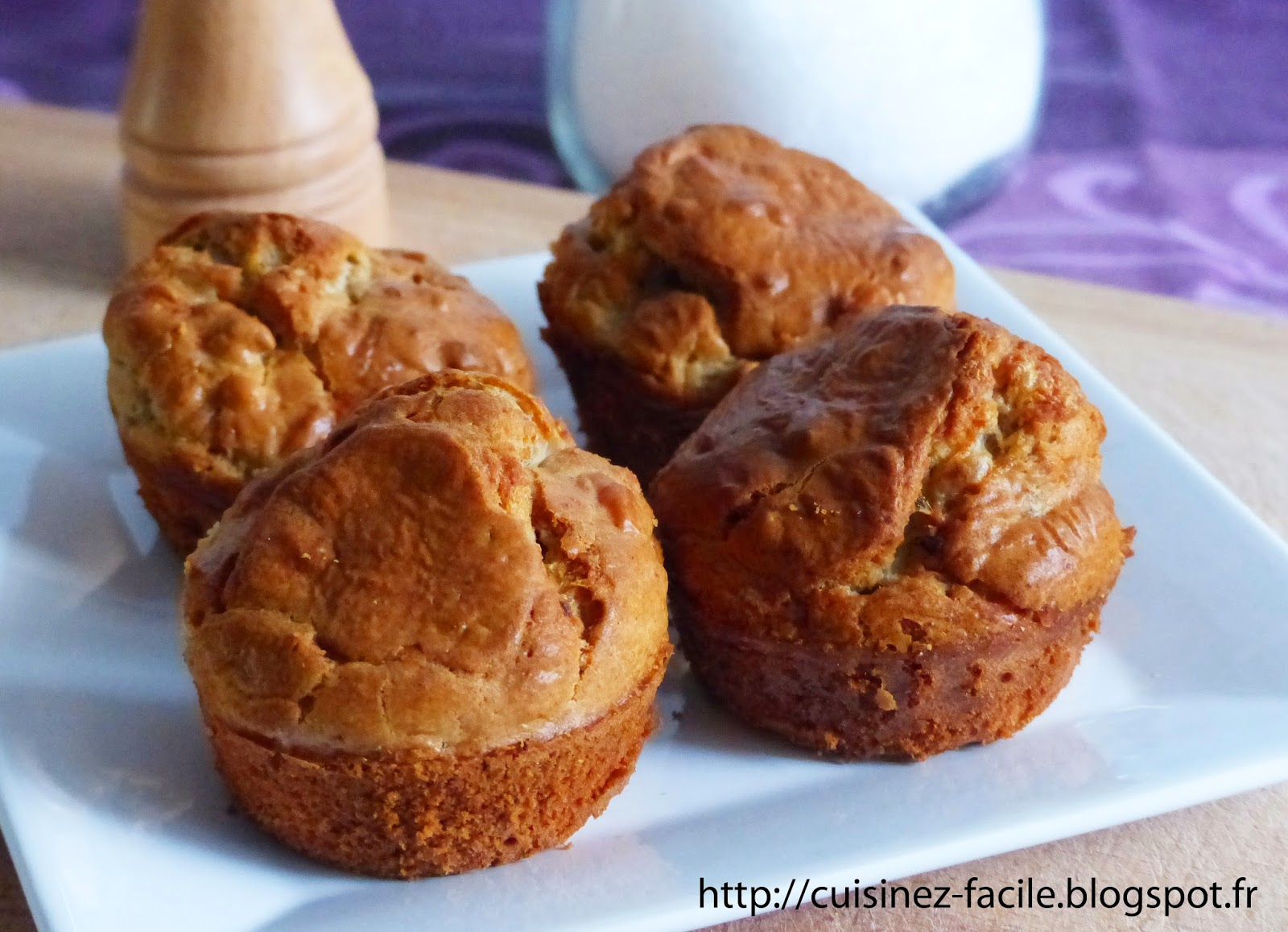 Recette Cake Lardon Roquefort