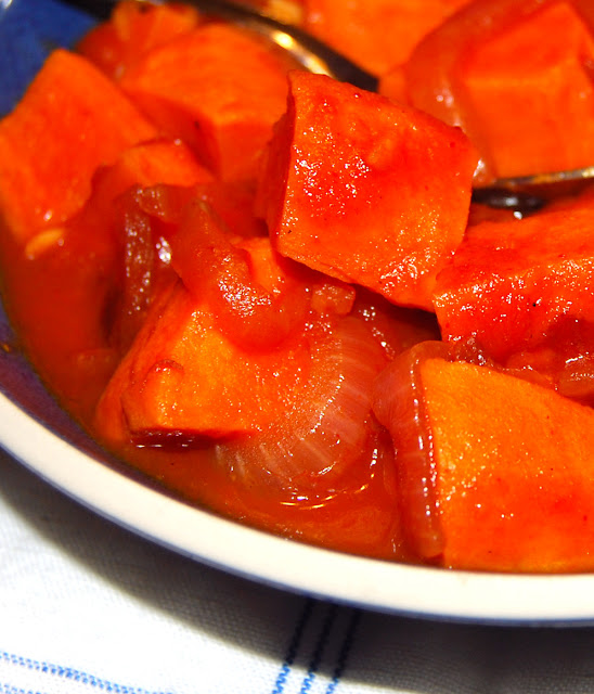 Braised Sweet Potatoes