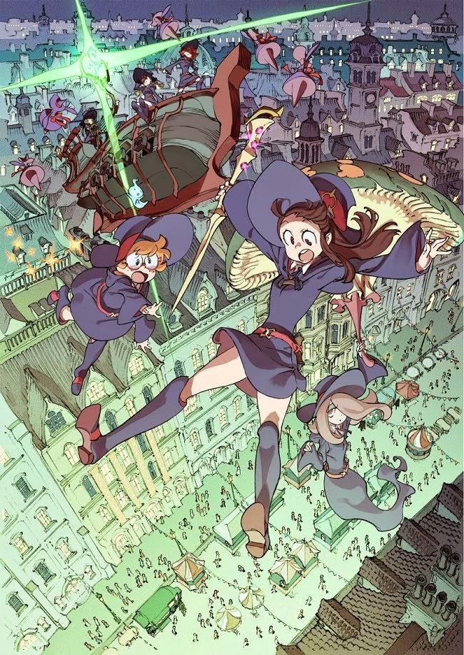 Little Witch Academia : The Enchanted Parade, Studio Trigger, Actu Ciné, Cinéma,
