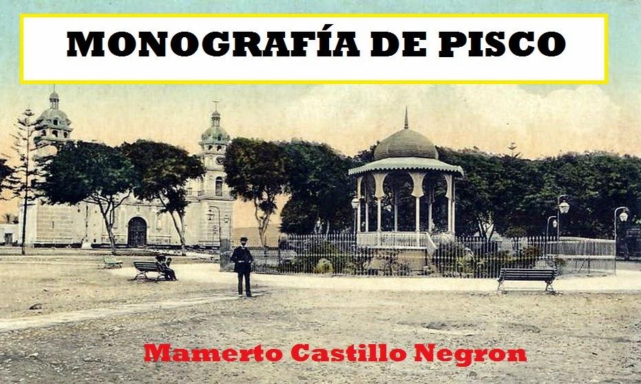 MONOGRAFÍA DE PISCO
