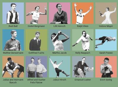 Berlim homenageia atletas judeus vítimas do nazismo