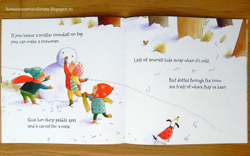 The Snowy Day editura Usborne
