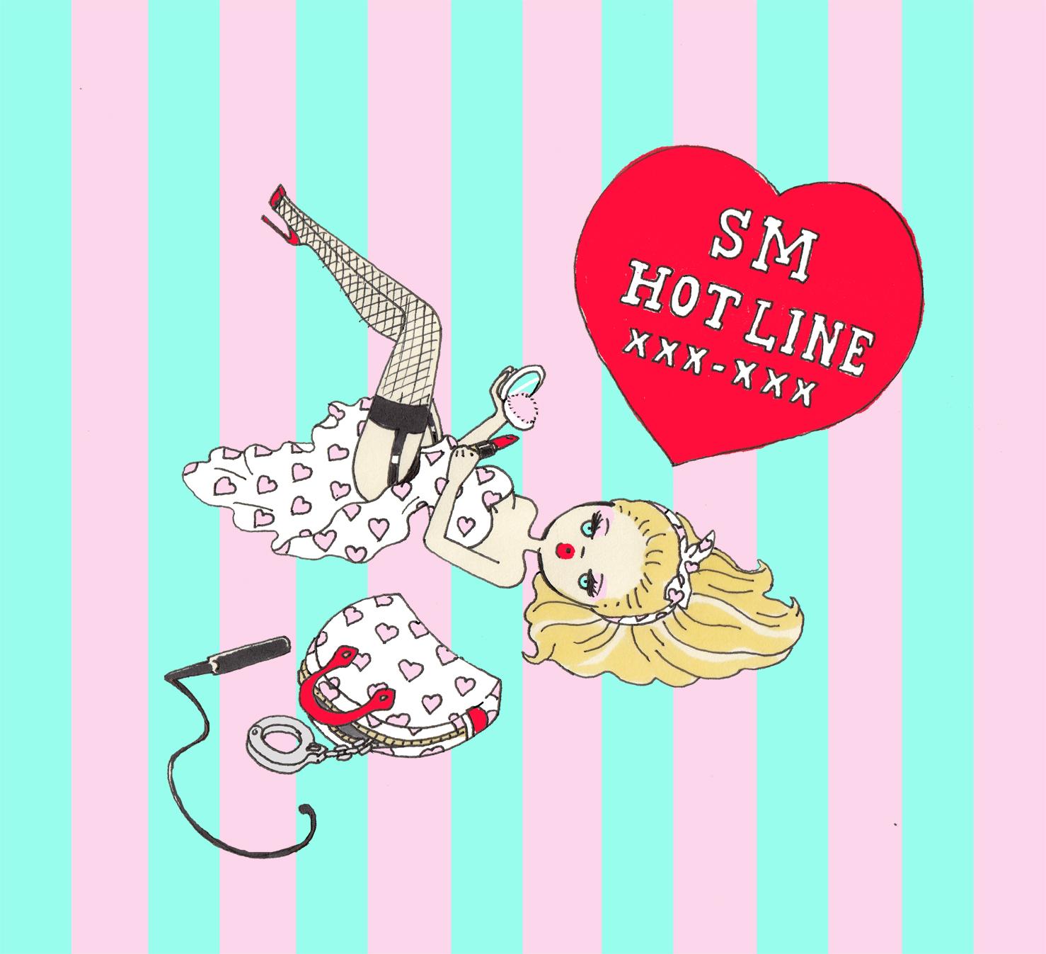 SM HOT LINE ♡ XXX-XXX : エロティックでガーリーな「FOXY illustrations」が気