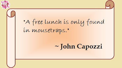 quotes to make you think: free lunch