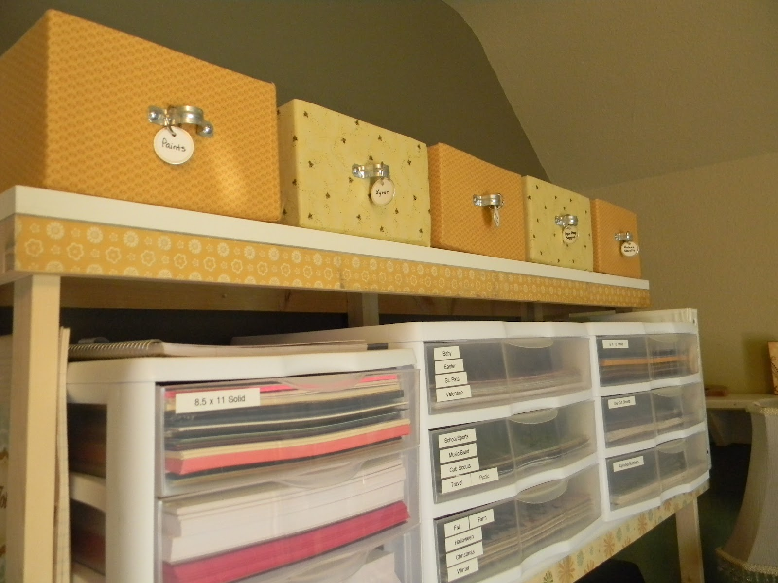 Fabric Covered Storage Boxes! & Everyday Life: Fabric Covered Storage Boxes!