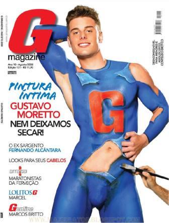 Homens Pelados Revista G Magazine Gustavo Moretto