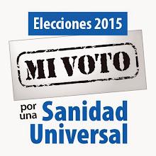 Voto por una Sanidad Universal