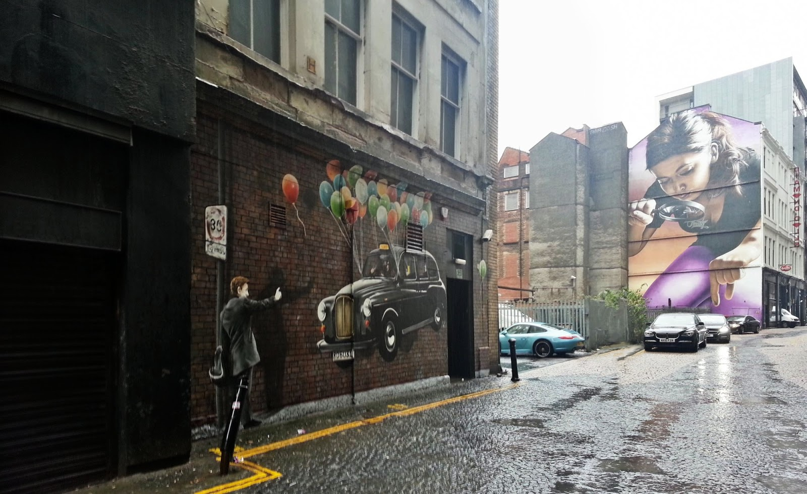 Taxi, Rogue One, Glasgow