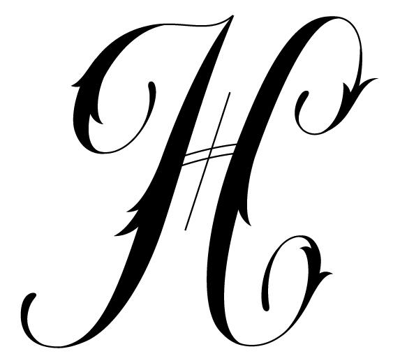 Tattoo Designs ... H Alphabet Designs