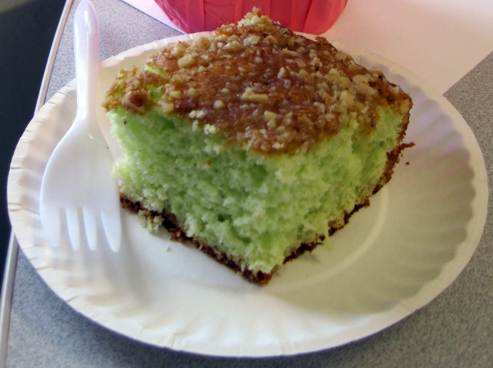Adirondack Baker: Office Food and Pistachio Cake